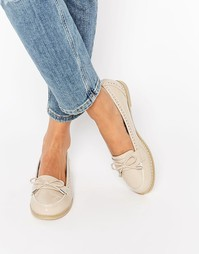 Туфли на плоской подошве ASOS MONTHLY - Stone