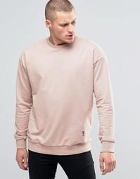 Oversize-свитшот с заниженной линией плеч Religion - Розовый
