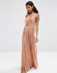 Трикотажное пляжное платье макси ASOS - Mink