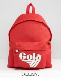 Классический красно-белый рюкзак эксклюзивно для Gola - Красный