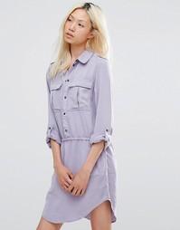 Платье-футболка Blend She - Лавандовая аура