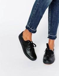 Классические кожаные кеды Keds - Черный