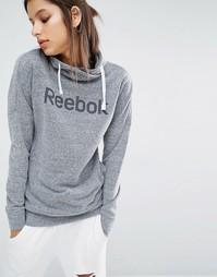 Худи с отворачивающимся воротником и классическим логотипом Reebok