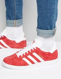 Красные кроссовки adidas Originals Gazelle S76228 - Красный