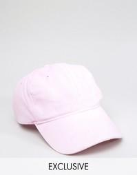 Розовая бейсболка Reclaimed Vintage - Розовый