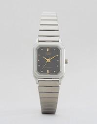 Часы в винтажном стиле Casio LQ-400D-1AEF - Серебряный