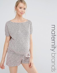 Ромпер свободного кроя для беременных Bluebelle Maternity Lounge