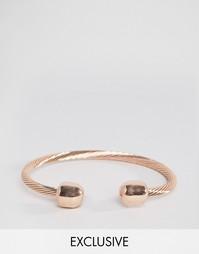 Металлический браслет Reclaimed Vintage - Розовое золото