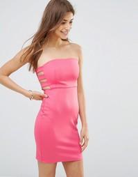 Облегающее платье Oh My Love - Fuschia
