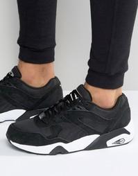 Кроссовки Puma R698 - Черный