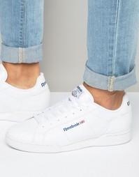 Белые кроссовки Reebok NPC UK II 1354 - Белый