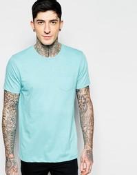 Однотонная футболка Brave Soul - Синий