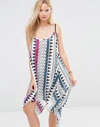 Пляжное платье мини с принтом Anmol - Мульти