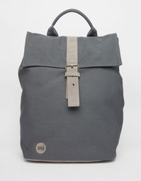 Темно-серый холщовый рюкзак-роллтоп Mi-Pac - Угольный