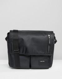 Черная сумка через плечо Diesel - Черный