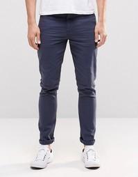 Зауженные синие джинсы ASOS - Темный синий