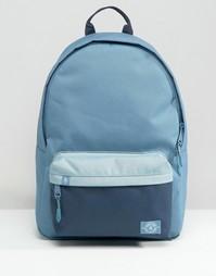 Синий винтажный рюкзак колор блок на 25 литров Parkland - Синий