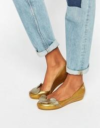 Туфли с блестками на плоской подошве Vivienne Westwood for Melissa Utr