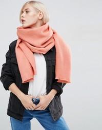 Длинный мягкий шарф ASOS - Коралловый
