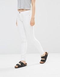 Белые зауженные джинсы JDY - Белый