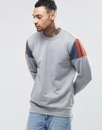 Свитшот с круглым вырезом adidas Originals Elevate AY8728 - Серый