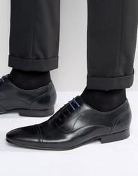 Темно-бордовые оксфордские туфли Ted Baker Umbber - Черный