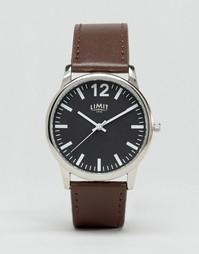 Часы с черным циферблатом и коричневым ремешком Limit эксклюзивно для