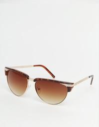 Квадратные солнцезащитные очки Jeepers Peepers - Черепаховый