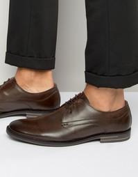 Кожаные туфли дерби Base London Bayham - Коричневый