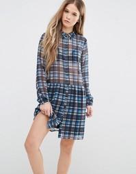 Платье в клетку Pepe Jeans Claire - Мульти 542