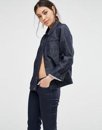 Джинсовая куртка бойфренда Levis Line 8 - L8 резиновый оттенок