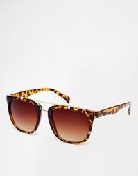 Винтажные солнцезащитные очки в черепаховой оправе Jeepers Peepers