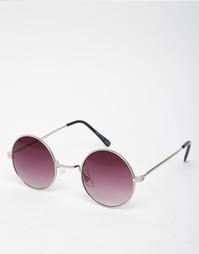 Круглые солнцезащитные очки с дымчатыми стеклами Jeepers Peepers