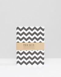 3 блокнота формата A6 Ohh Deer - Мульти