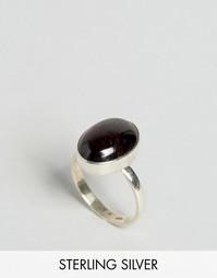 Серебряное кольцо с гранатом Regal Rose - Серебряный