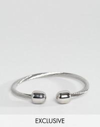 Металлический браслет Reclaimed Vintage - Серебряный