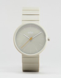 Классические серые часы в минималистском стиле Braun - Серый