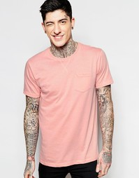 Однотонная футболка Brave Soul - Розовый