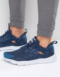 Синие кроссовки Reebok Furylite AQ9955 - Синий