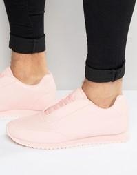 Розовые нейлоновые кроссовки ASOS - Розовый