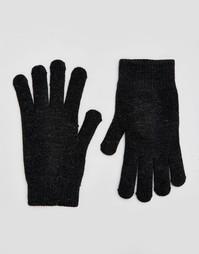 Перчатки для сенсорных экранов ASOS - Черный