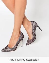 Туфли на высоком каблуке с острым носком ASOS PERU - Многоцветный