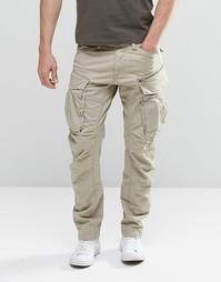 Суженные брюки карго с молниями G-Star Rovic 3D - Dune