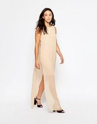 Платье макси Minimum Gine - Пыльный песочный