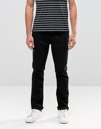 Черные джинсы слим Blend - Черный крашеный деним
