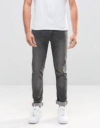Серые зауженные джинсы стретч Blend Cirrus - Серый