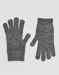 Перчатки для сенсорных экранов ASOS - Mixed knit