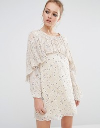 Платье с цветочным принтом Sister Jane - Розовый
