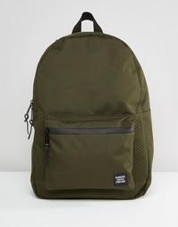 Рюкзак цвета хаки с перфорированной отделкой Herschel Supply Co Settle