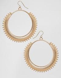 Серьги-кольца Missguided - Золотой